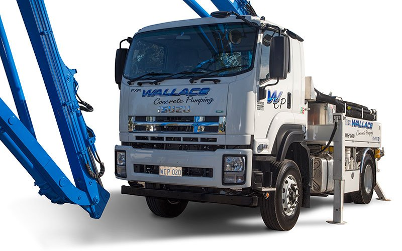 Since 2002, Wallace Concrete Pumping has provided the greater Sydney region a high quality concrete line and boom pumping service to a range of different projects from residential to commercial and civil.